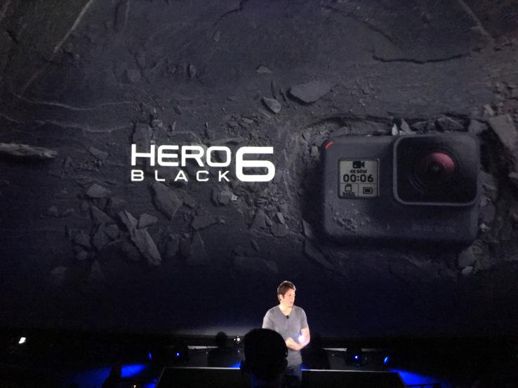 Новая камера Hero6
