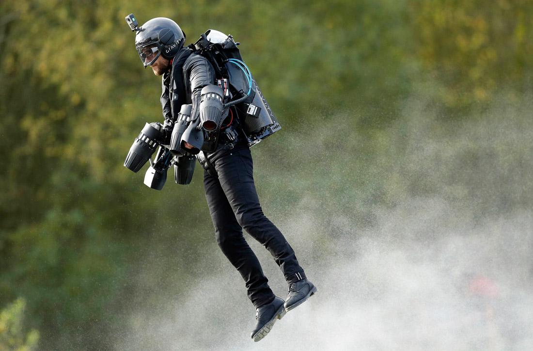 летающий рекордсмен Ричард Браунинг