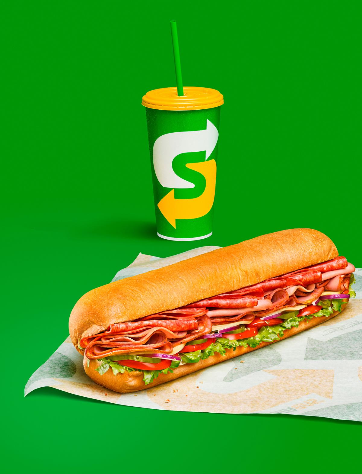 креативная реклама от Subway