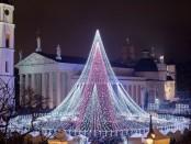 Елка в Вильнюсе