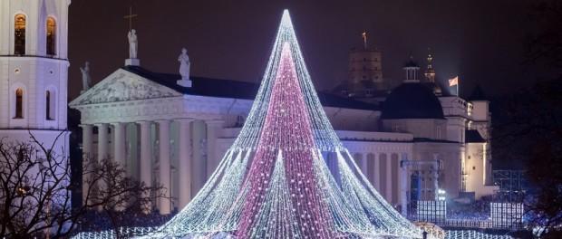 Самая красивая елка Европы в Литве