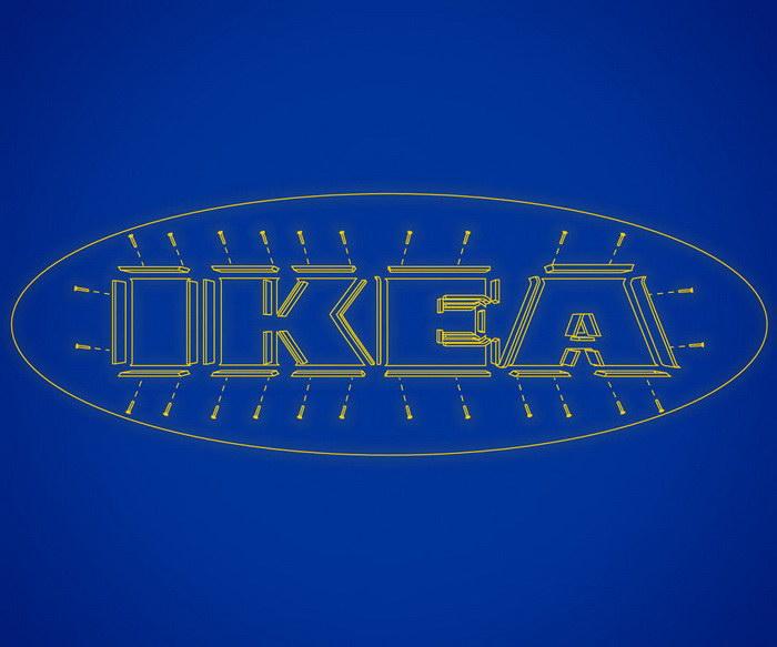 креативный плакат ИКЕА