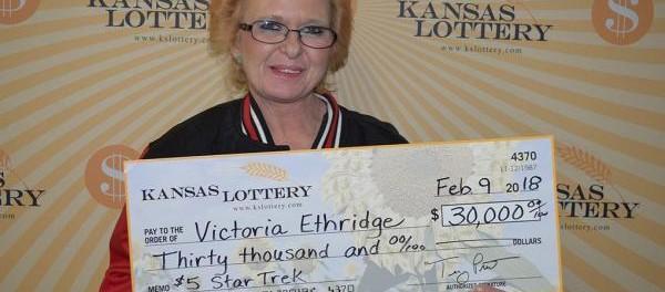Американка по ошибке выиграла 30000