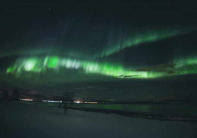 Чарующая красота полярного сияния