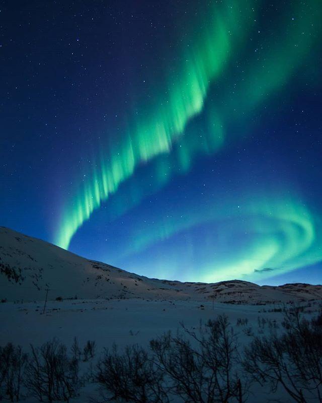 Восхитительная красота полярного сияния от Криса Робина Сивертсена