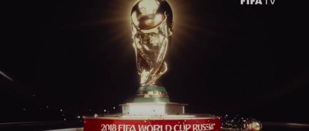 ФИФА презентовала заставку ЧМ 2018