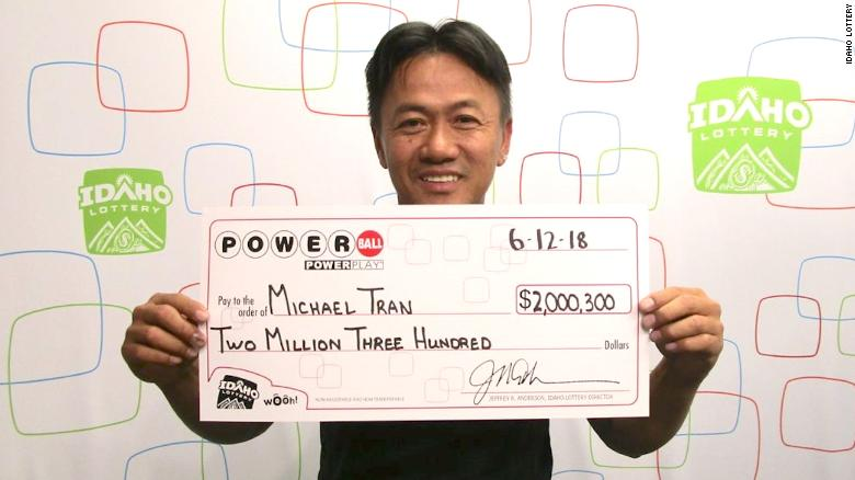 Michael Tran Idaho Lottery