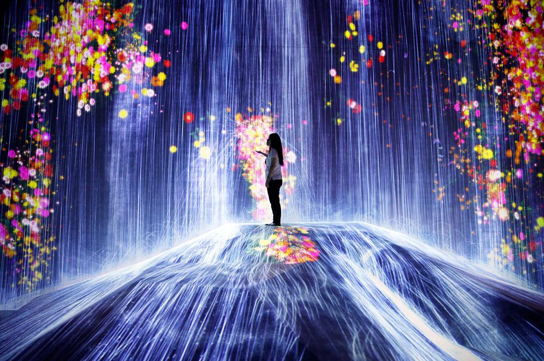 Позитивное очарование токийского музея цифровых искусств