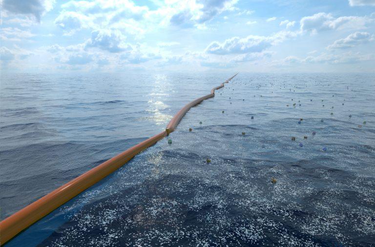 Один из вариантов очистки океана от пластика