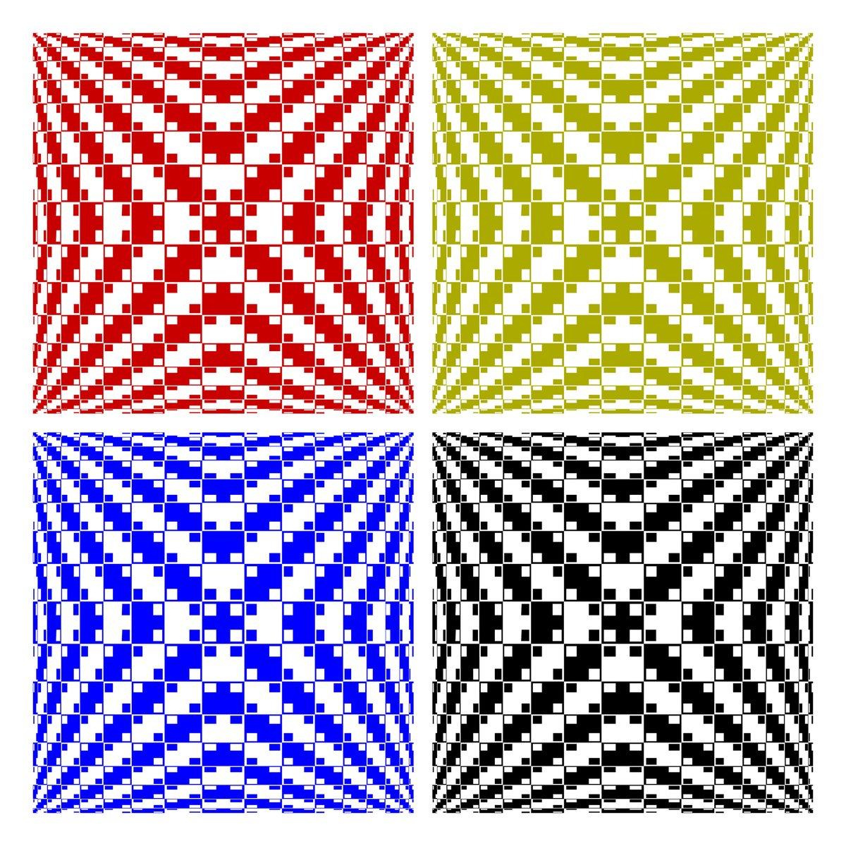 Одна из оптических иллюзий от Акиоши Китаока