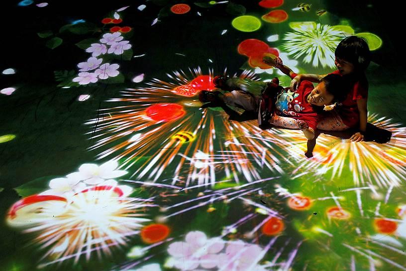 Позитивные игровые инсталляции для тайваньских детей