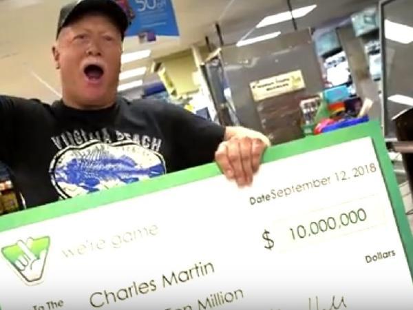wins $10 million