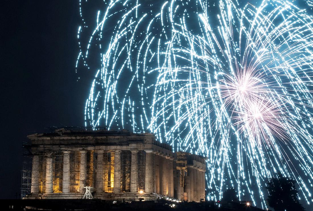 Яркая встреча 2019 года в Афинах