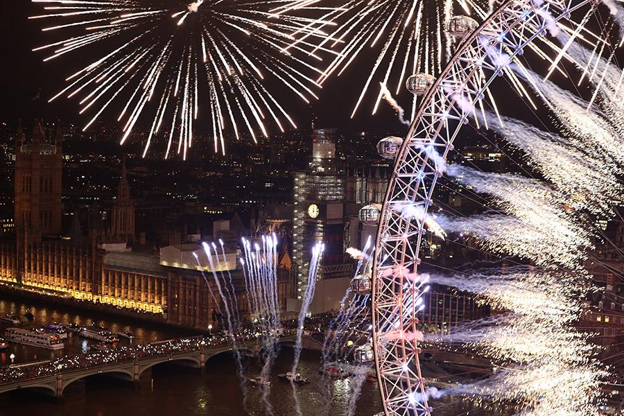 Новый 2019 год в Лондоне