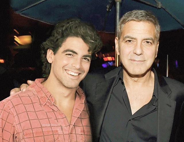 Звезды в молодости и сейчас - Джордж Клуни