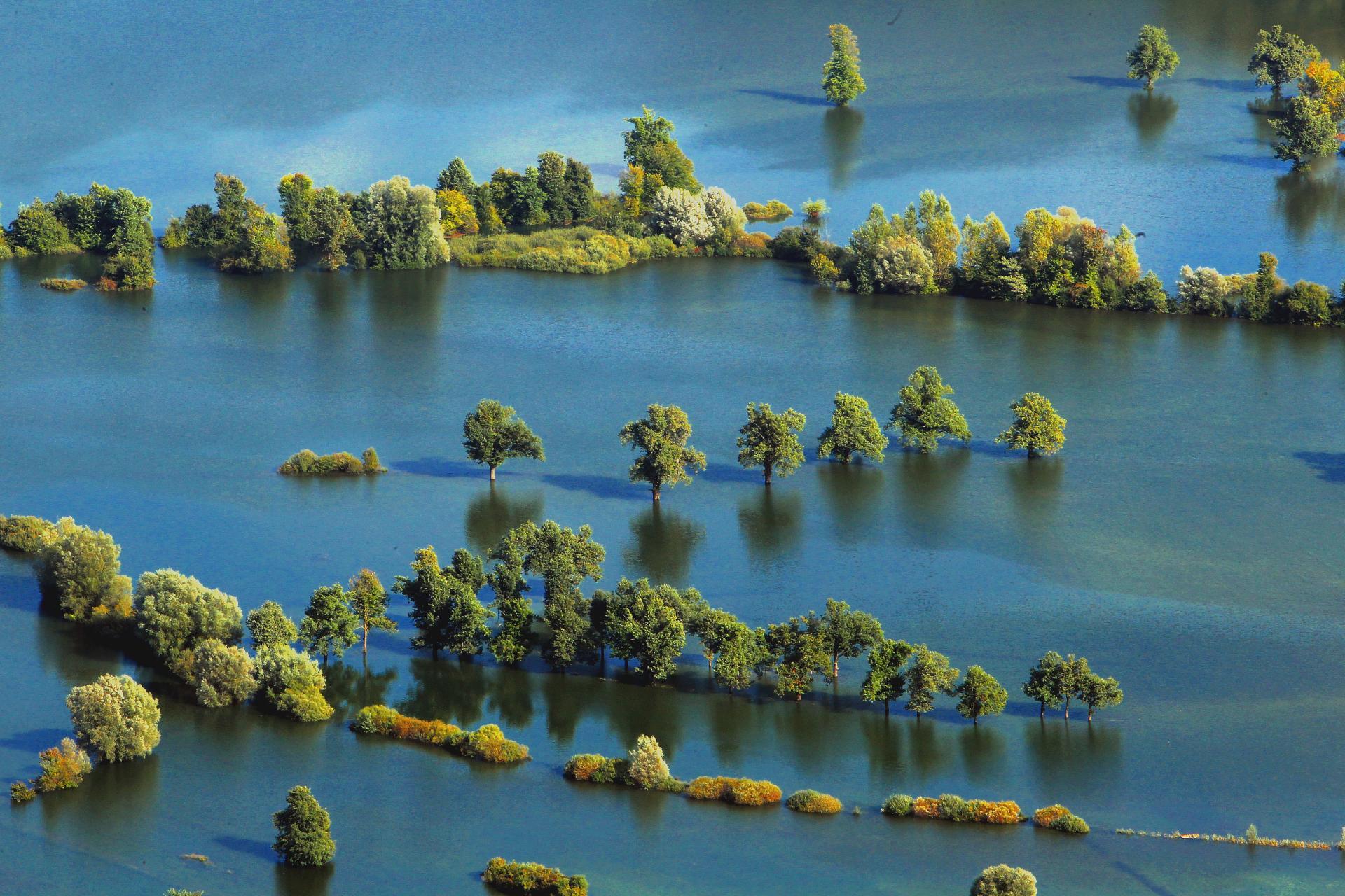 Наводнение на Филиппинах также может быть красивым