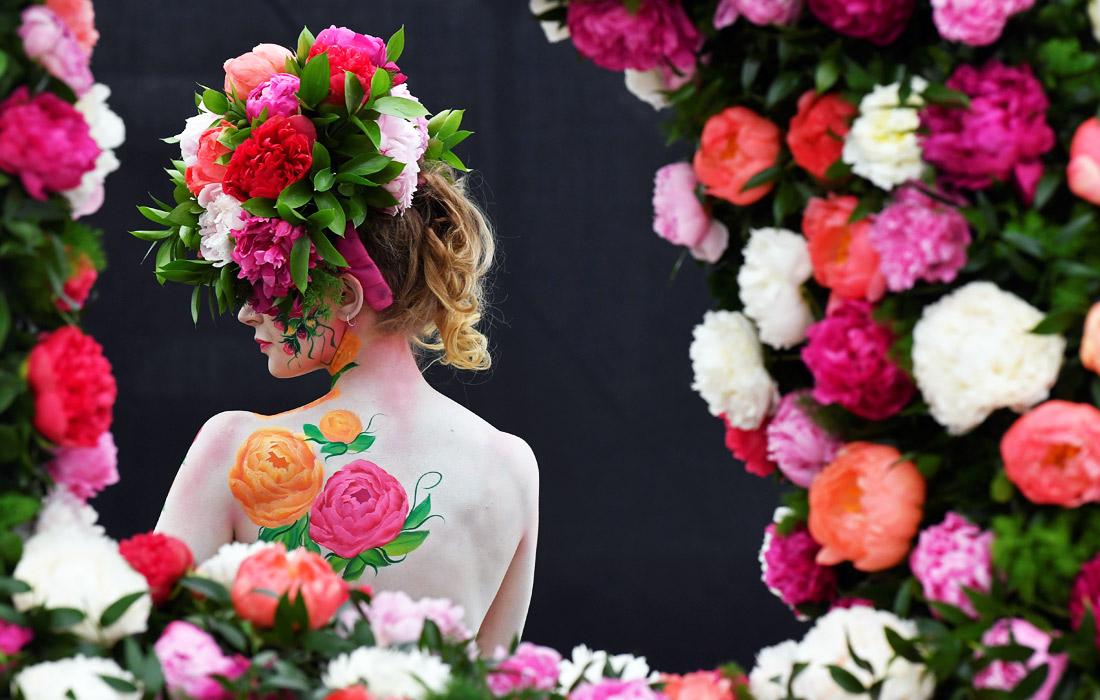 Цветочный фестиваль в Челси