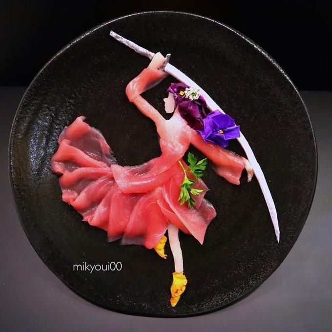 сашими от Mikyoui