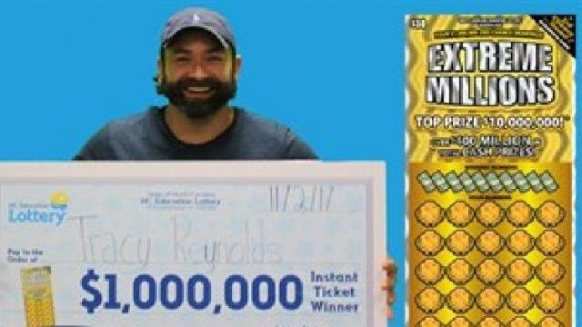 man credits $1 million