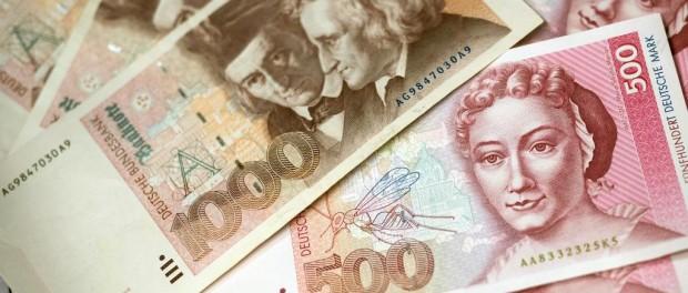 Немец заработал 25000 на старых марках