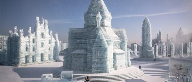 Ледяное очарование Харбинского фестиваля скульптур