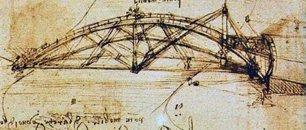 Американцы доказал реальность константинопольского моста да Винчи