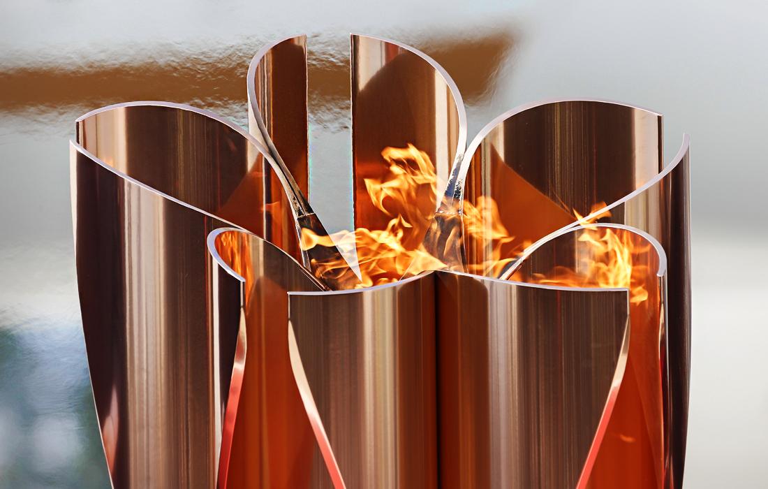 В Японии прошла  церемония встречи Олимпийского огня