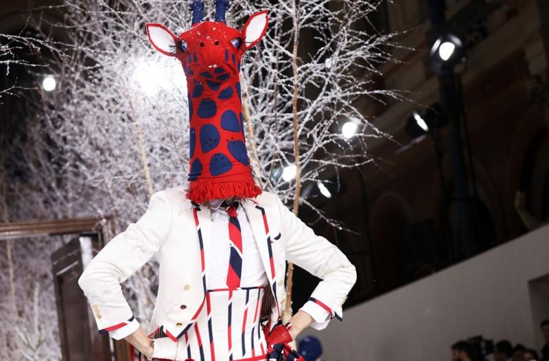 Мода она такая  -  на показе Thom Browne