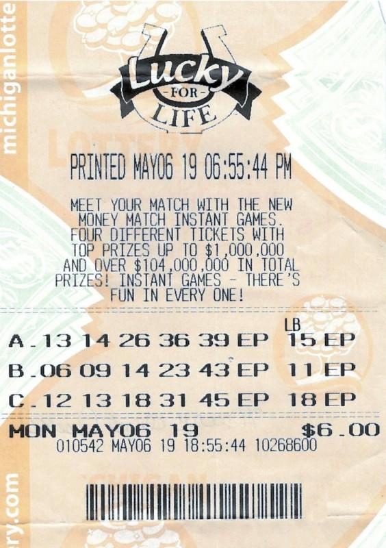 выигрыш в лотерею на сдачу