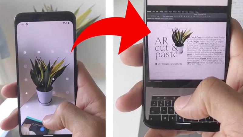 AR Cut & Paste