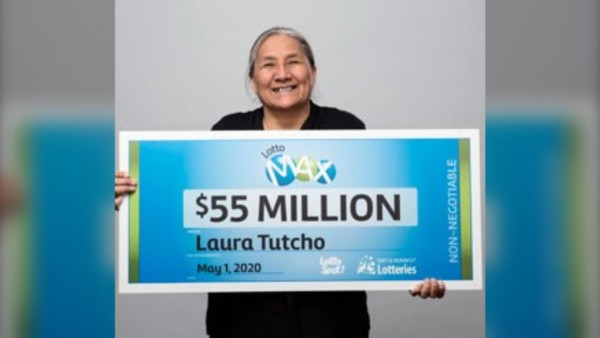 $55 million Lotto Max jackpot