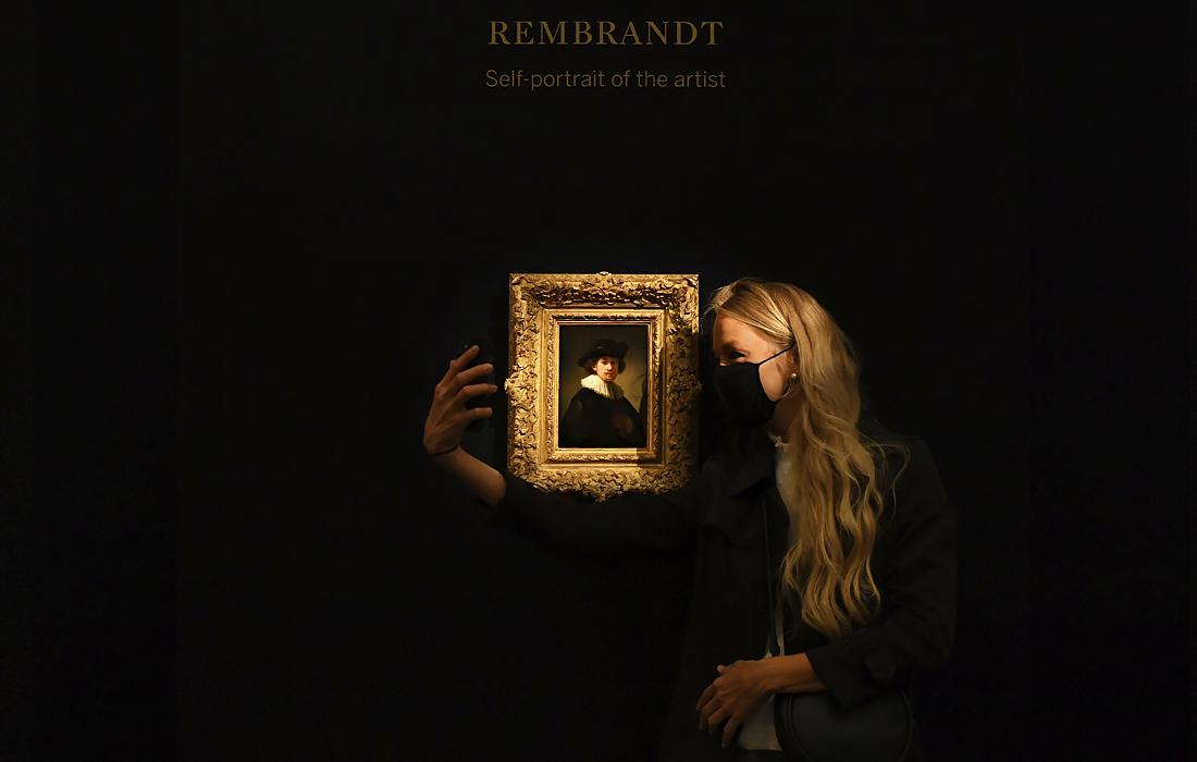"""""""Автопортрет"""" Рембрандта ван Рейна - самый дорогой автопортрет в мире"""