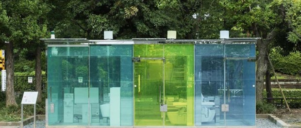Японцы удивили мир прозрачными туалетами