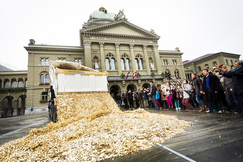 эксперимент с бесплатной раздачей денег в Германии