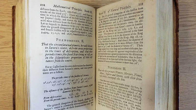 Isaac Newton's Mathematical Principles of Natural Philosophy3