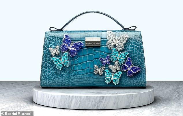 most expensive handbag  Boarini Milanesi