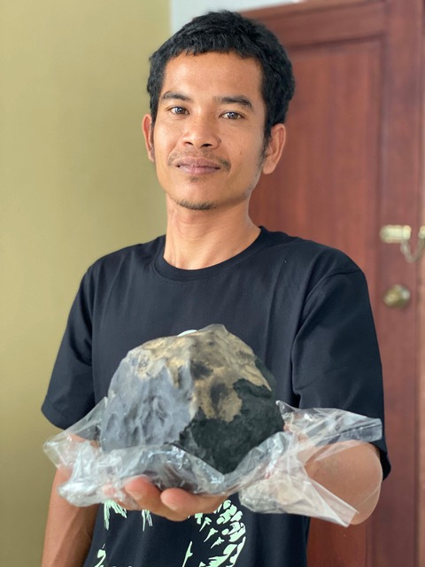 space rock is worth £1.4million