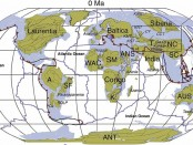 Plate tectonic evolution from 1 Billion years ago to the present