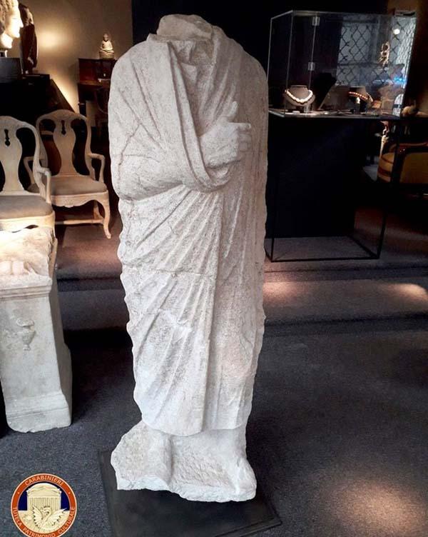Roman statue