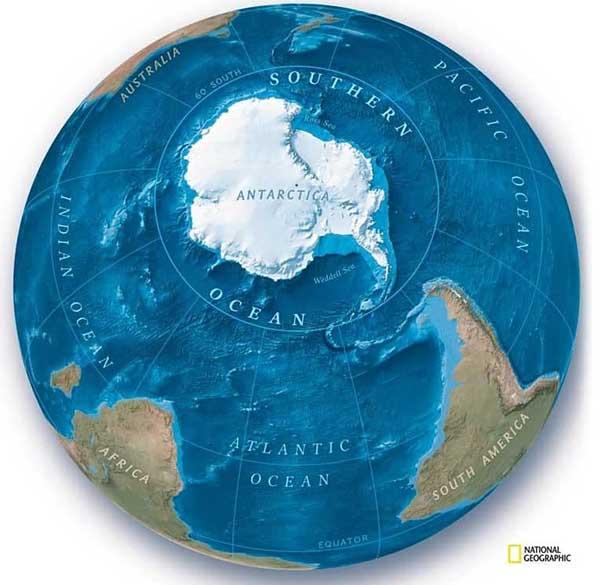 На Земле официально появился пятый океан