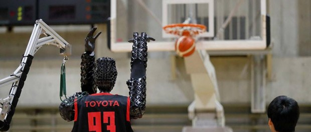 На Олимпиаде в Токио в баскетбол играют даже роботы