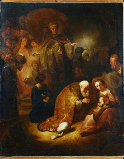 the Adoration of the Magi Rembrandt