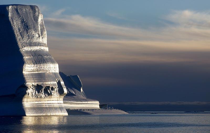 Сияние ледников Гренландии