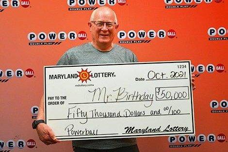 50,000 Powerball ticket