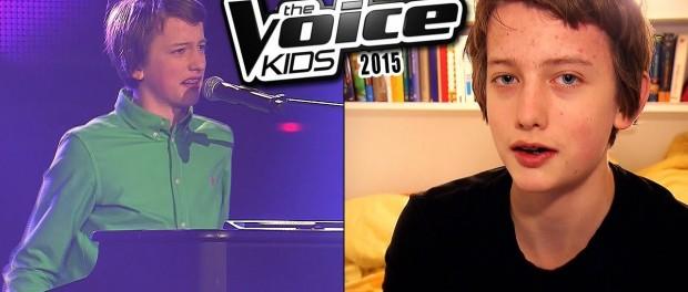Зажигательное выступление парня на немецком The Voice Kids