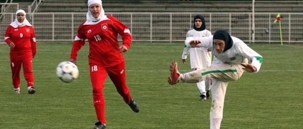 Неженское лицо женского футбола в Иране
