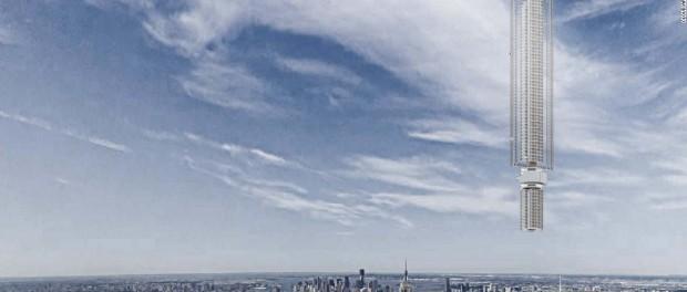 Дубай удивит мир парящим небоскребом