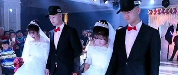 Уникальная китайская свадьба взбудоражила соцсети