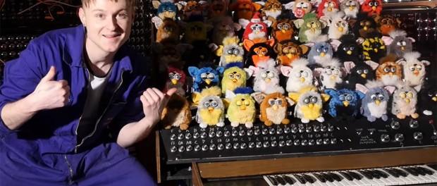 Коллекция игрушек Furby превратилась в необычный орган