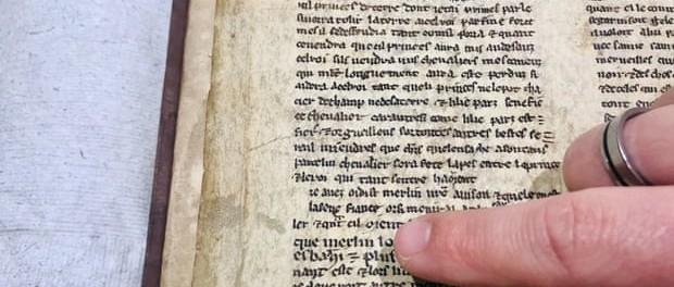 Британцы нашли неизвестную версию рассказа о Короле Артуре
